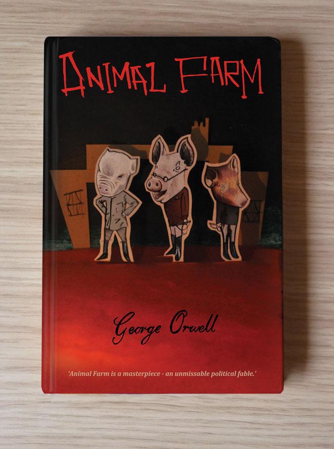 Helen Nowell Illustration Animal Farm
