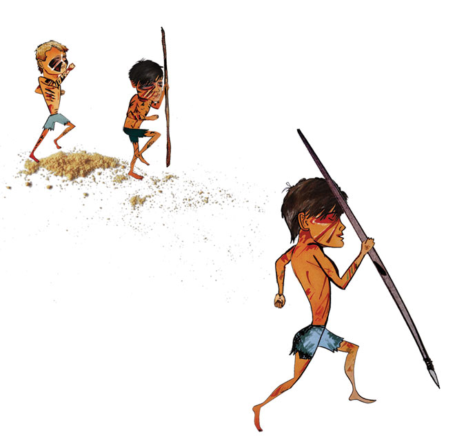 lord of the flies book characters